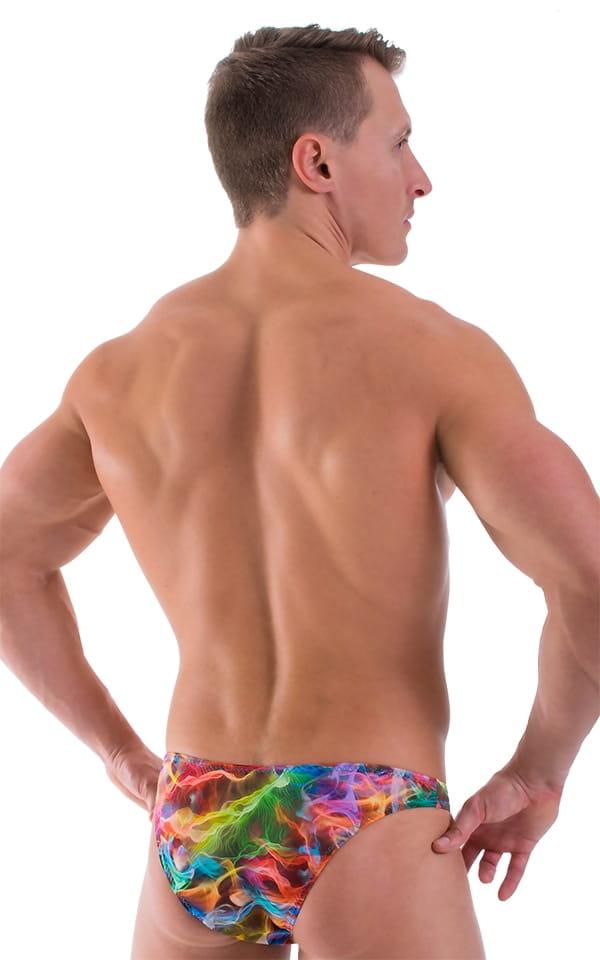 Comfort Pouch - Bulge Enhancing - Half Back Bikini in Vapors 3