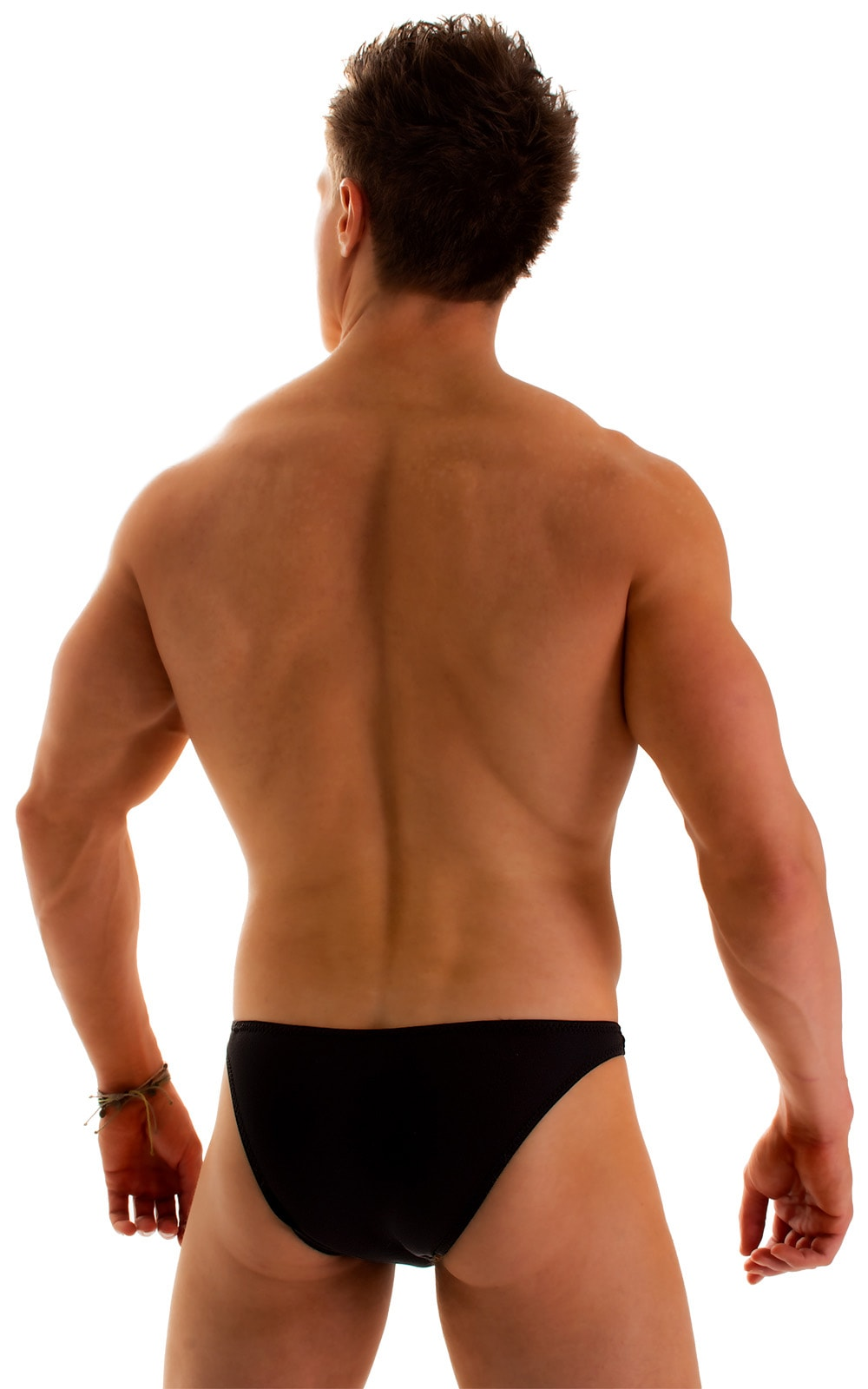 Enhancing Pouch Swim Brief in Super ThinSKINZ Black 2