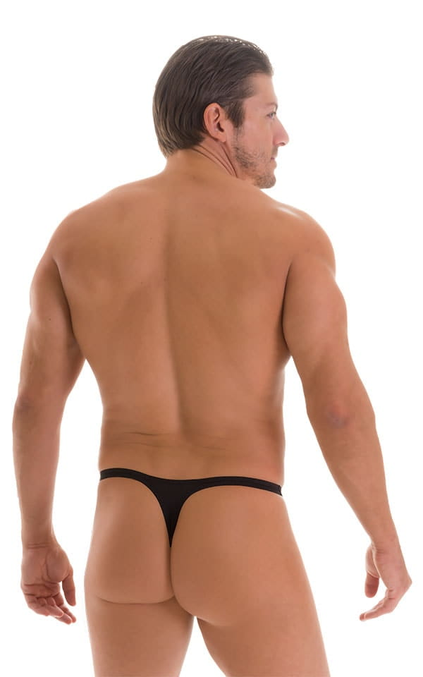 Quick Release Thong - Bravura Pouch in Super ThinSKINZ Black 2