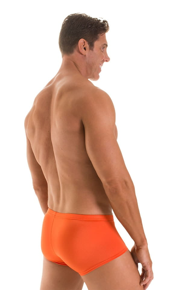 Fitted Pouch - Boxer - Swim Trunks in Pumpkin 2