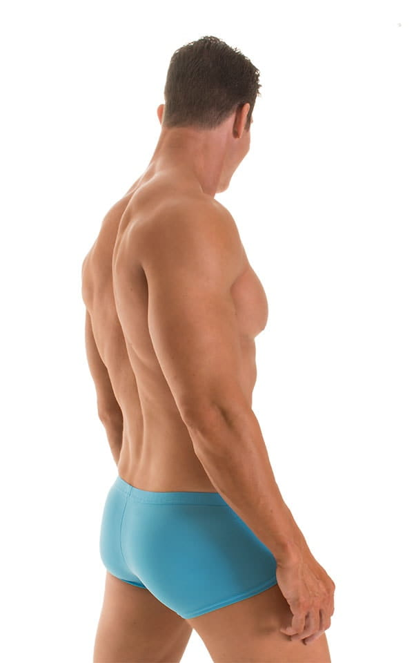 Fitted Pouch - Boxer - Swim Trunks in ThinSKINZ Sapphire 2