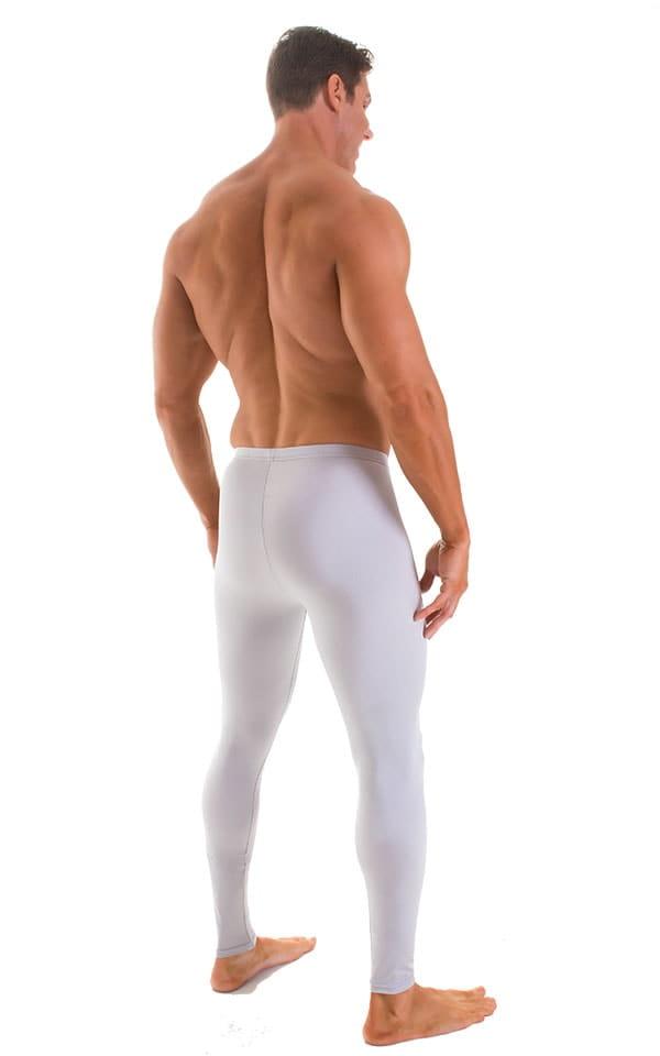 Mens Leggings Tights in Platinum 2