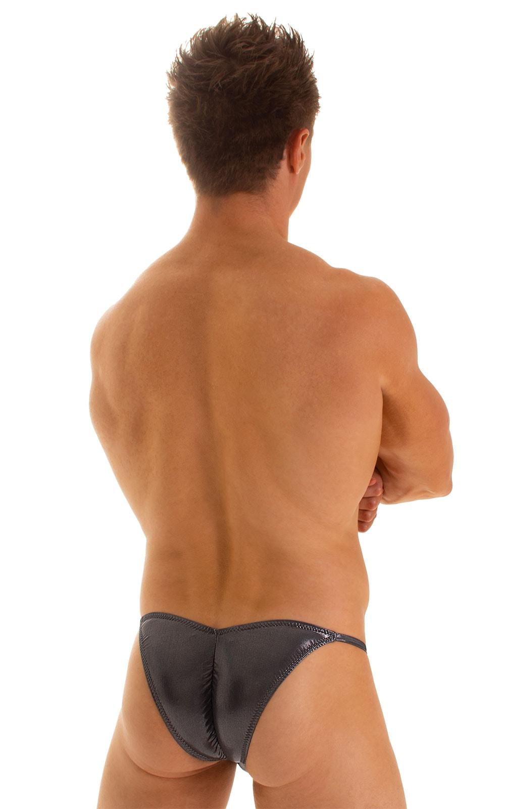 Micro Pouch - Puckered Back - Rio Bikini in Black Ice 2