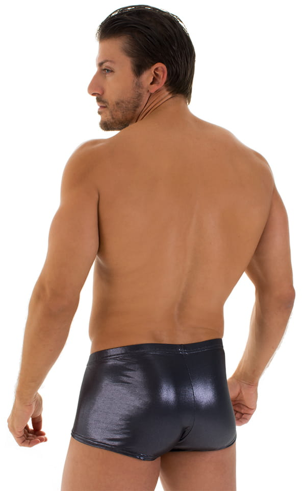 Fitted Pouch - Boxer - Swim Trunks in Ice Karma Nero 3