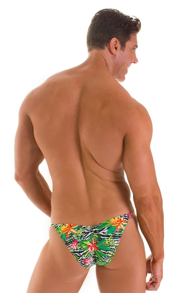 Micro Pouch - Puckered RIO Back in Super ThinSKINZ Exotic Tropics 2