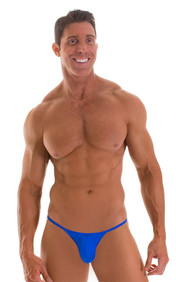 Micro Pouch - Puckered RIO Back in Royal Blue 1