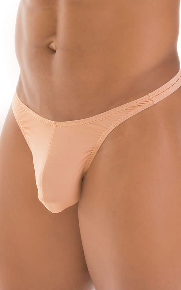 T Back Thong Swimsuit in Super ThinSKINZ Nude 4