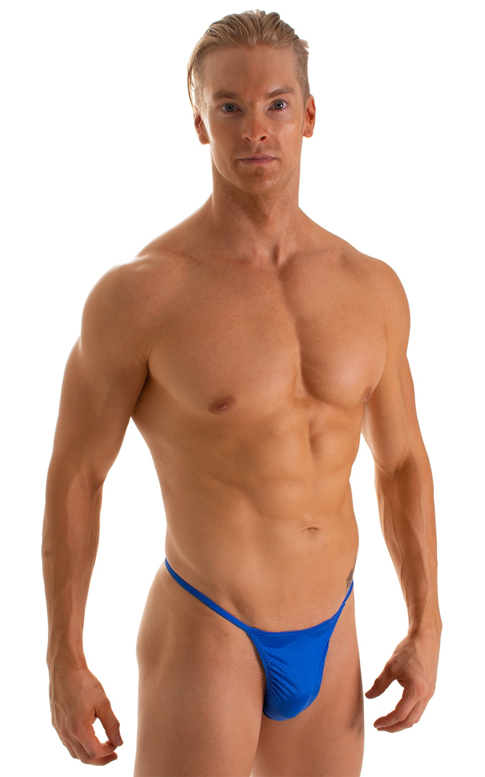 Y Back G String Thong in Royal Blue 1