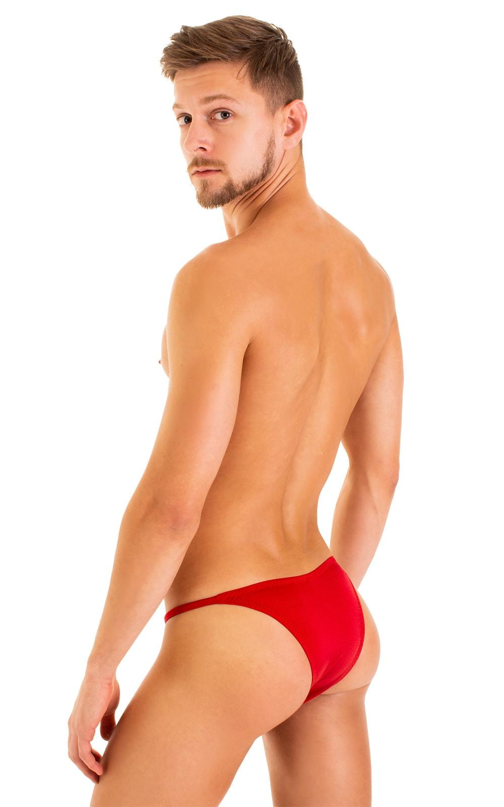Super Low Brazilian Bikini in Red 3