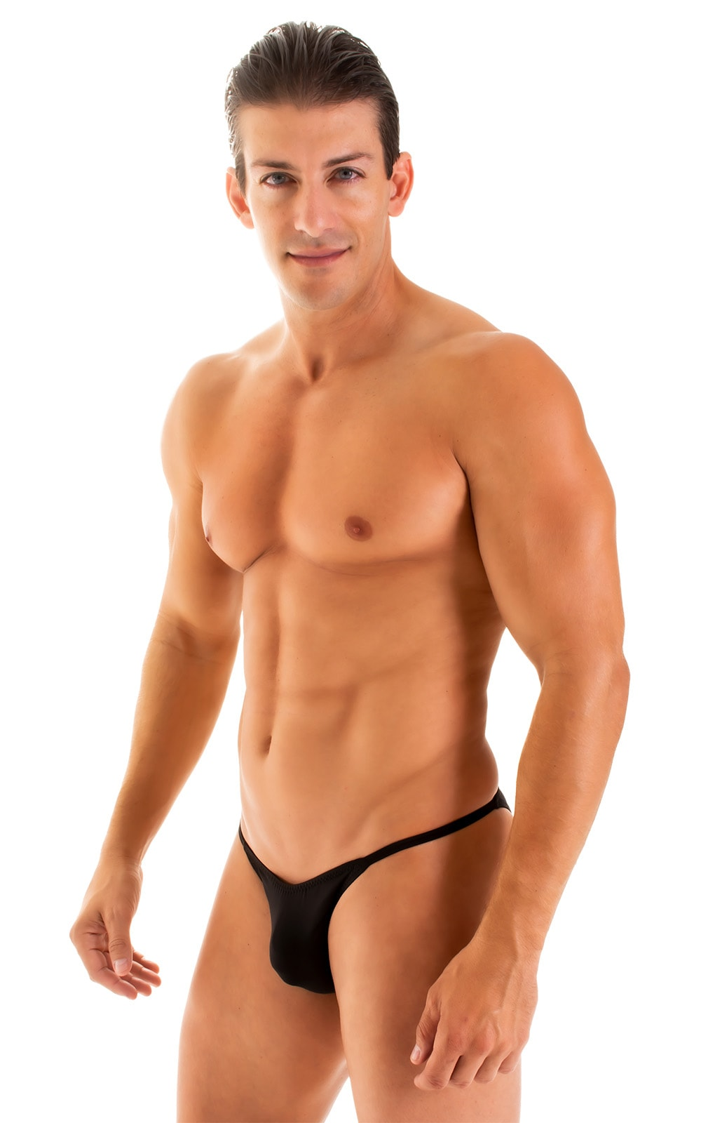 Super Low Brazilian Bikini in Super ThinSKINZ Black 5
