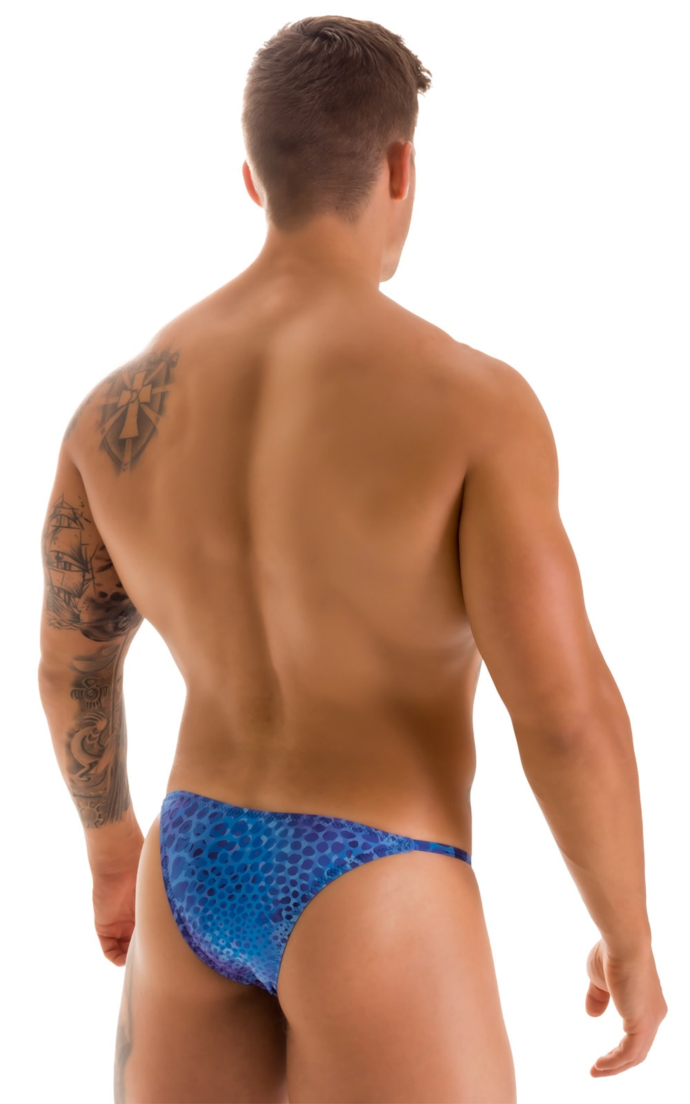 Super Low Brazilian Bikini in Super ThinSKINZ Deep Sea 2