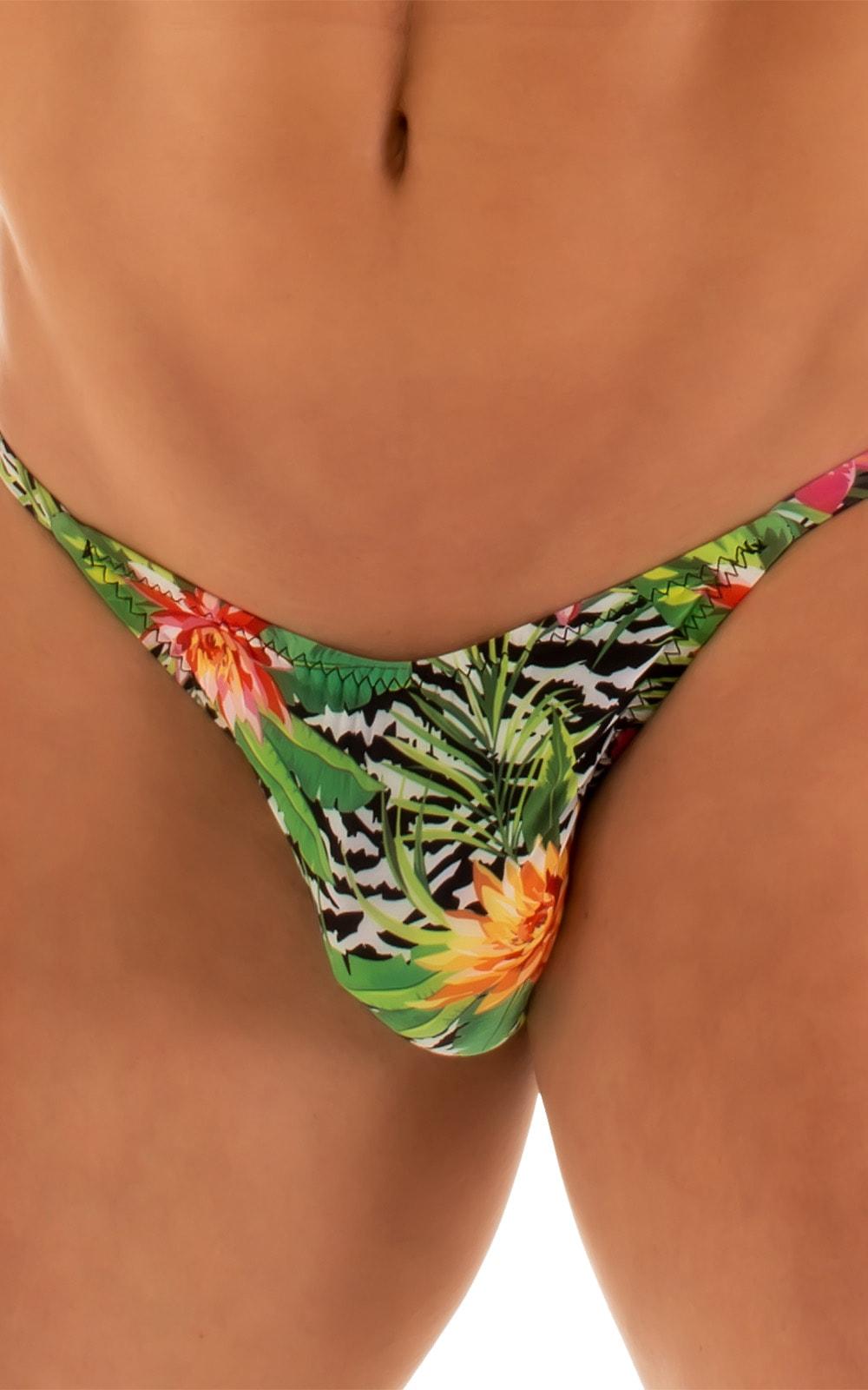 Super Low Brazilian Bikini in Super ThinSKINZ Exotic Tropics 4