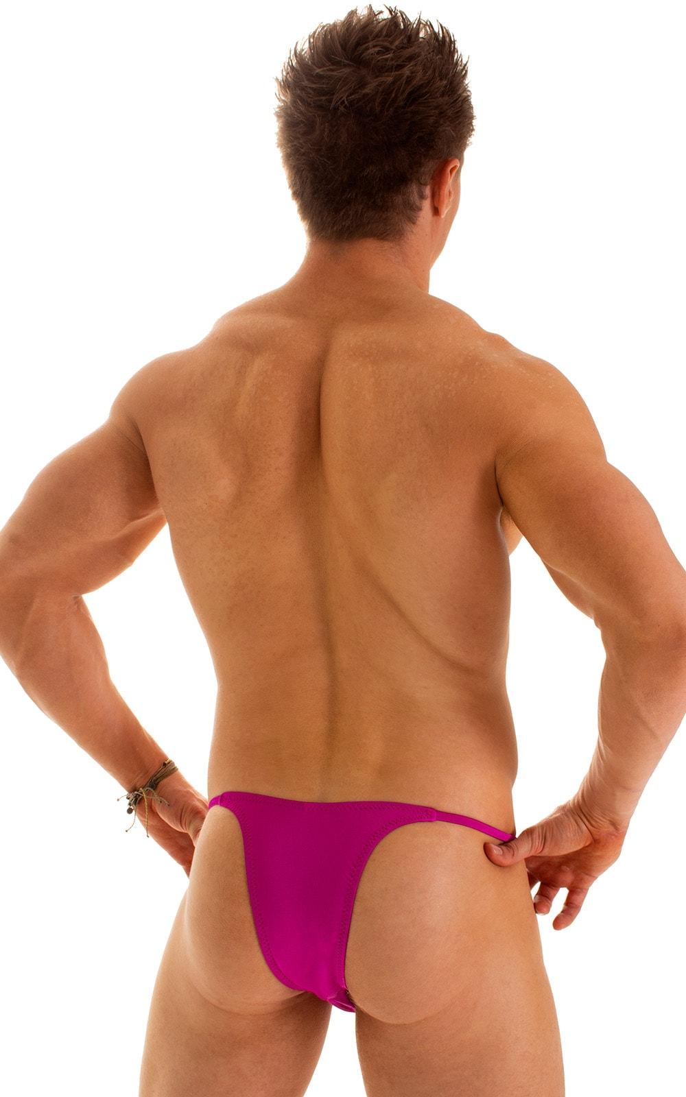 Sunseeker2 Tanning Swimsuit in Magenta 2