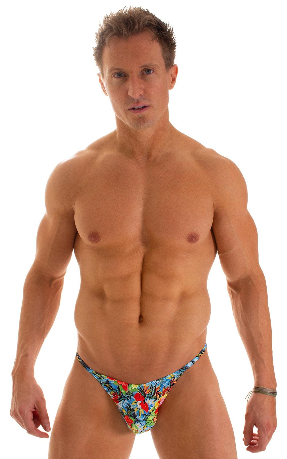 Sunseeker2 Tanning Swimsuit in Super ThinSKINZ Honolulu 1