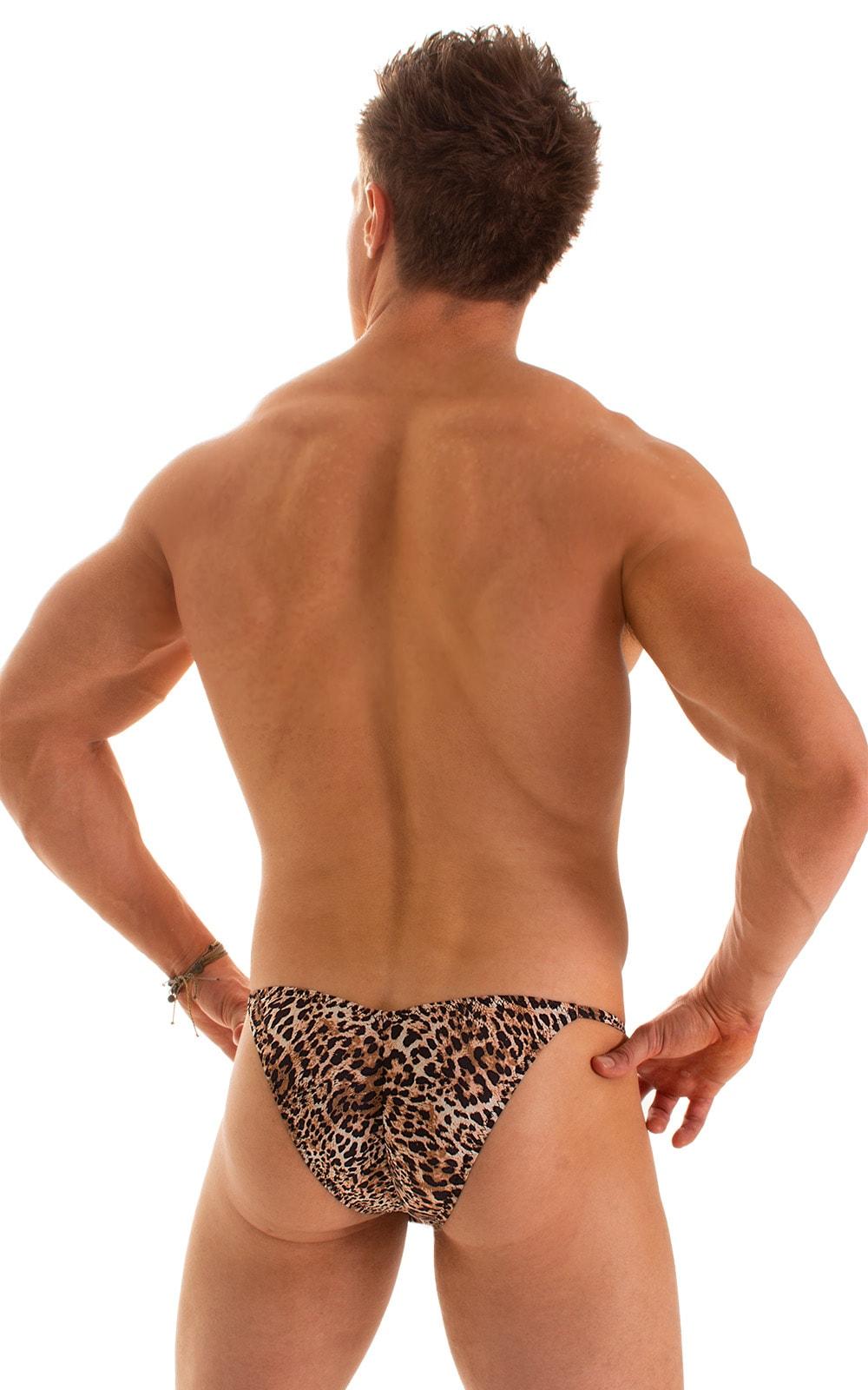 Micro Pouch - Puckered Back - Rio Bikini in Super ThinSkinz Cheeta 2