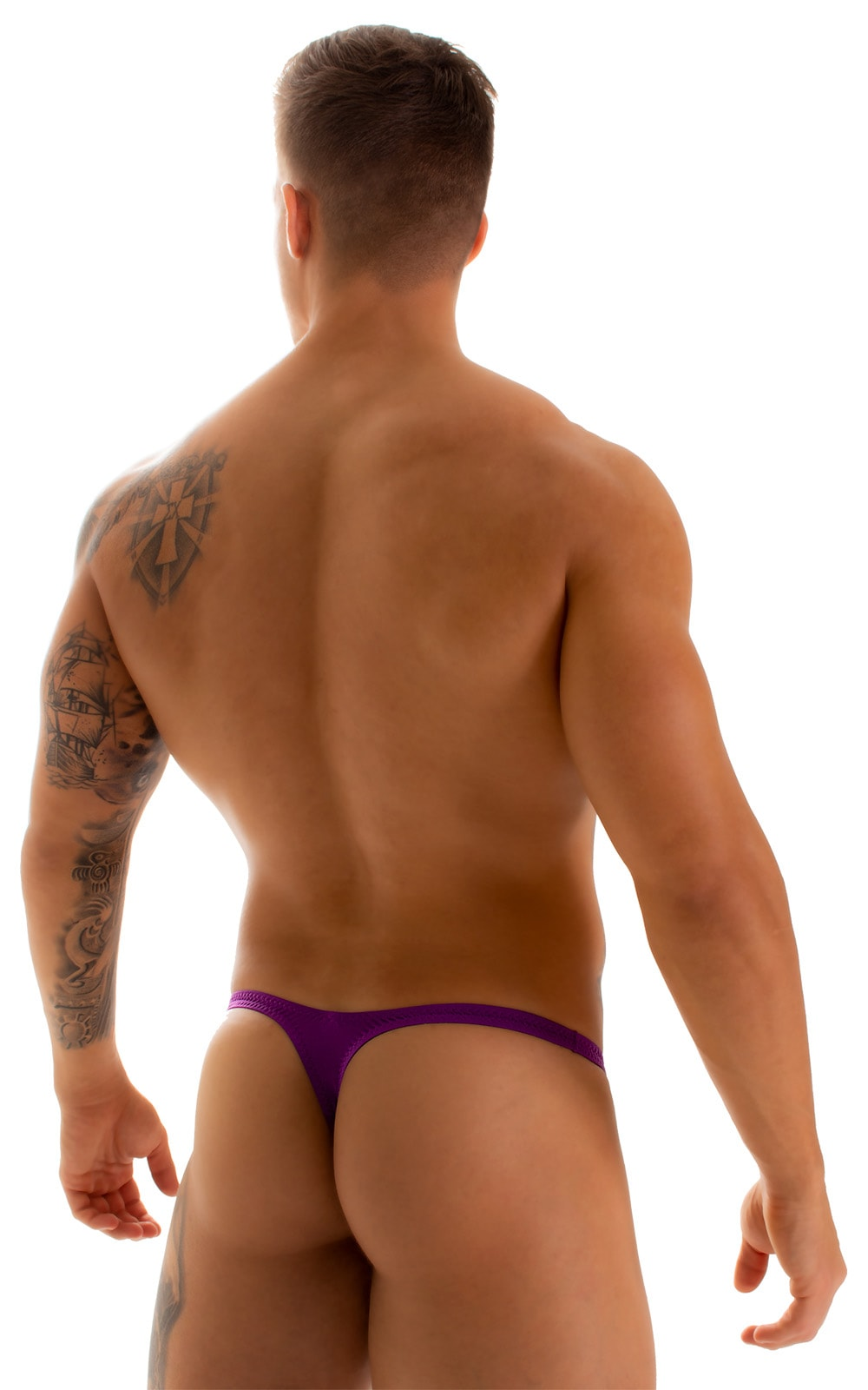 Stuffit Pouch Thong in ThinSKINZ Grape 2