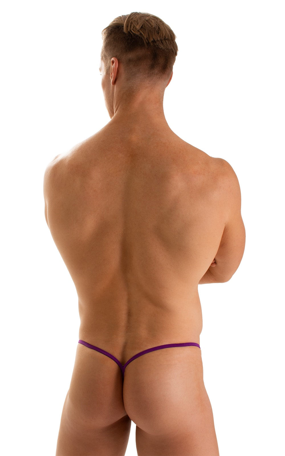 Y Back G String Thong in ThinSkinz Grape 2