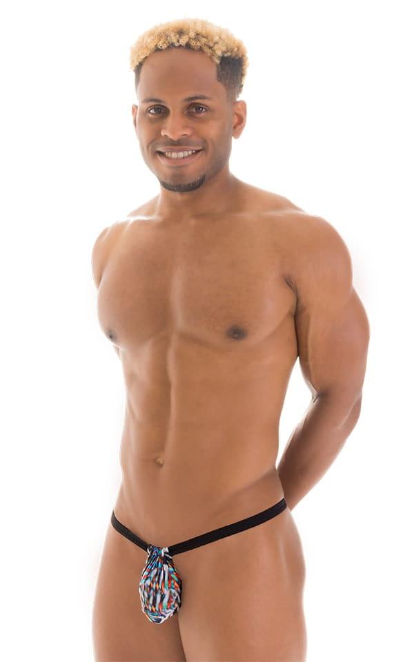 4-Way Adjustable Bikini-Tanga-Micro in Super ThinSKINZ Jumanji 5