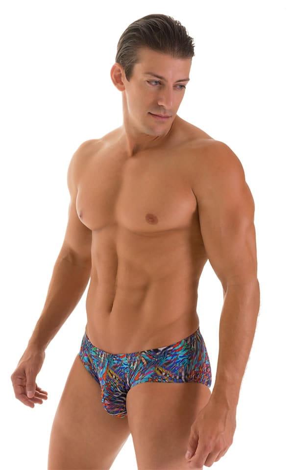 Pouch Brief Swimsuit in Super ThinSKINZ Jumanji 4