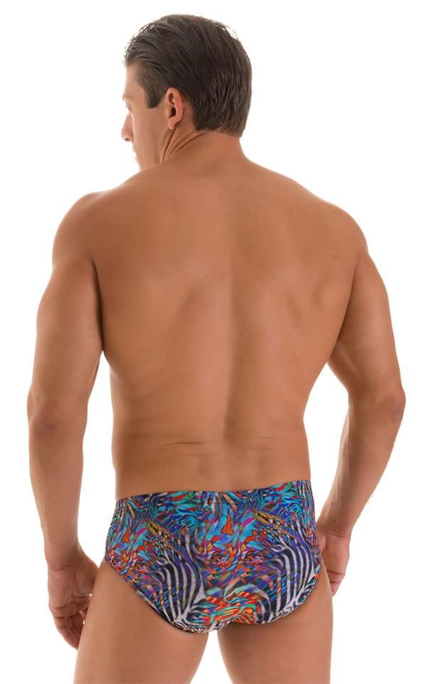 Pouch Brief Swimsuit in Super ThinSKINZ Jumanji 3