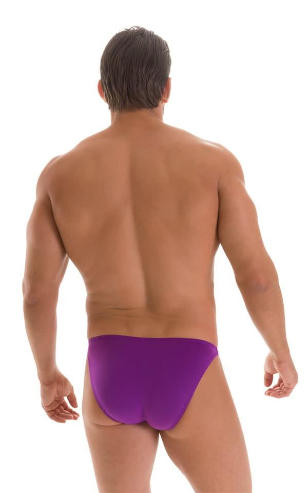 Stuffit Pouch Bikini Swimsuit in ThinSKINZ Grape 2