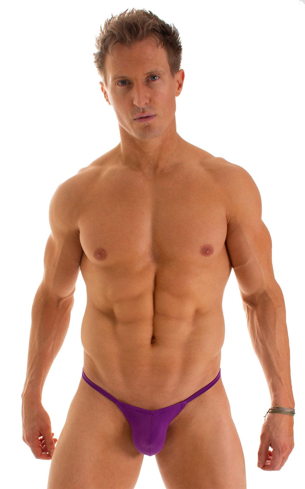 Micro Pouch - Puckered Back - Rio Bikini in ThinSkinz Grape 1