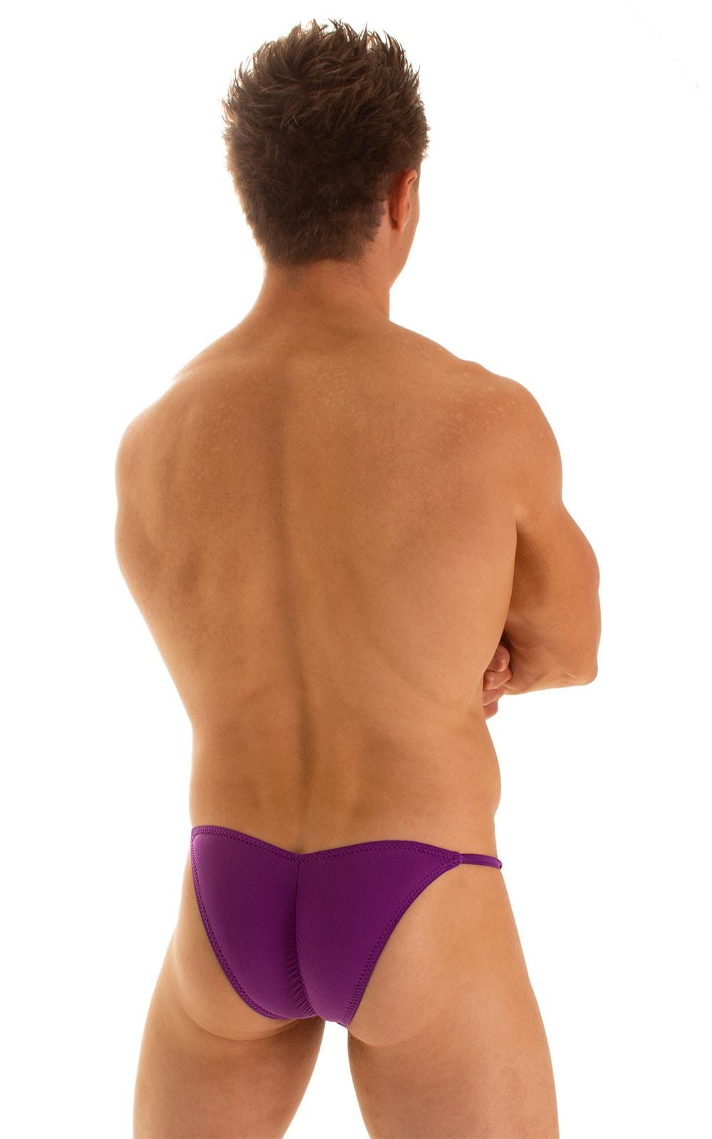 Micro Pouch - Puckered Back - Rio Bikini in ThinSkinz Grape 2