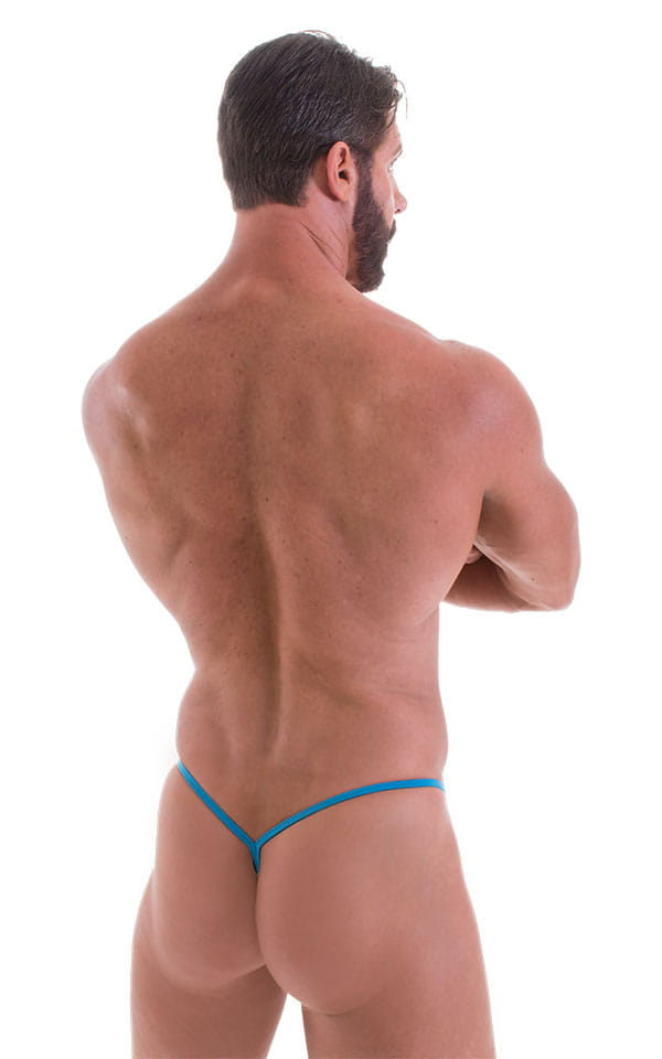 Y Back G String in ThinSKINZ Sapphire 3
