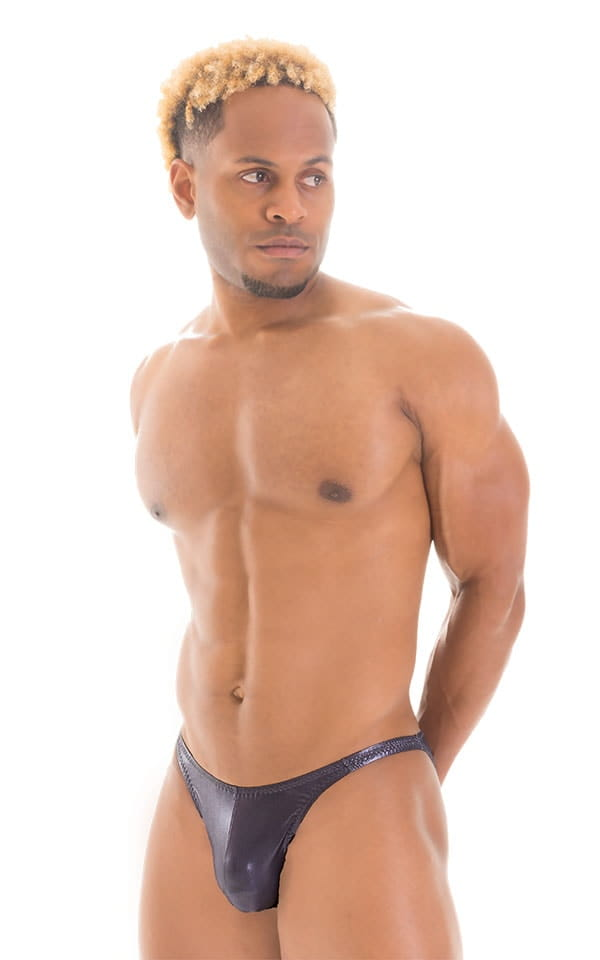 Fitted Bikini Bathing Suit in Ice Karma Nero 1