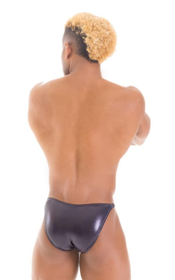 Fitted Bikini Bathing Suit in Ice Karma Nero 3