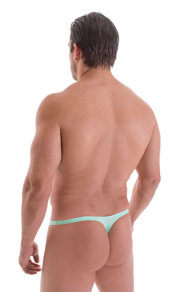 Stuffit Pouch Thong in Mint with PEP lining 3