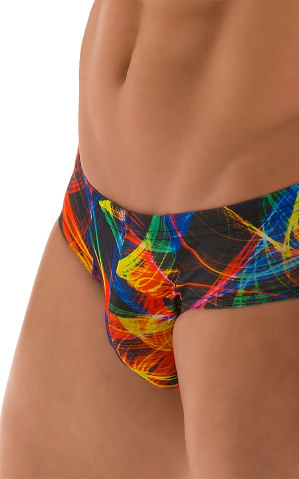 Pouch Brief Swimsuit in Tan Through Rave-Up 6