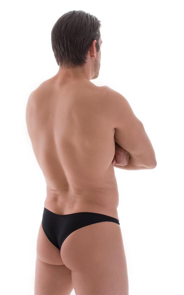 Tanga Cheekini Bikini in Super ThinSKINZ Black 3