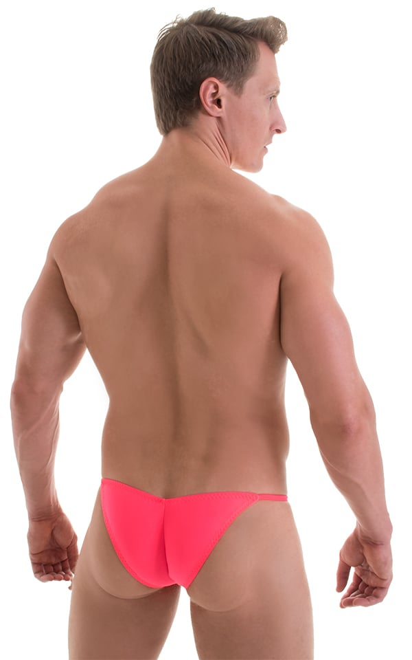 Micro Pouch - Puckered RIO Back in ThinSKINZ Neon Coral 3