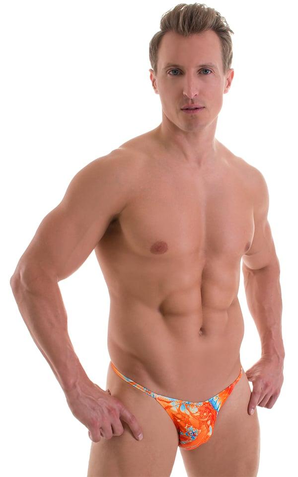 Super Low Brazilian Bikini in Vapor Wave 1