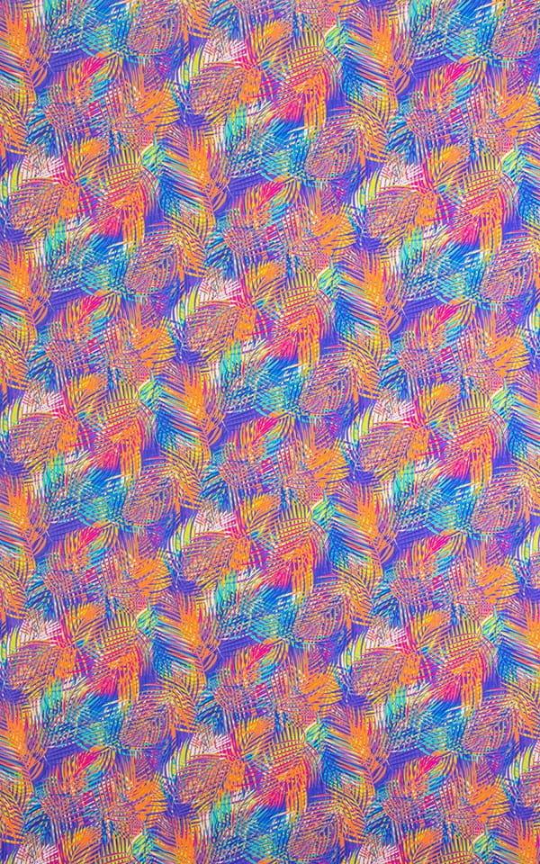 Pastel Palms Lavender Fabric