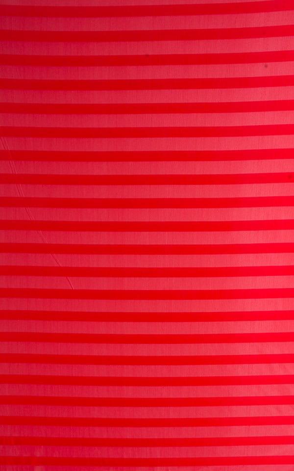 Red Satin Stripe Mesh 3