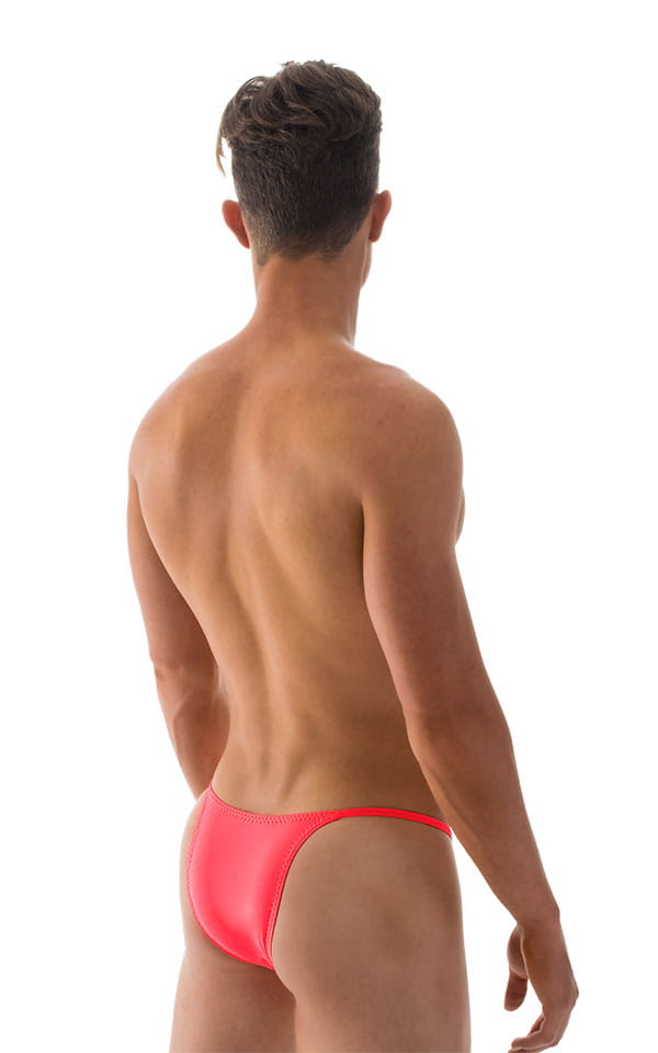 Sunseeker2 Tanning Swimsuit in ThinSKINZ Neon Coral 3