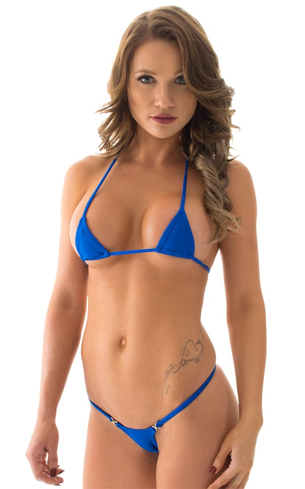 Micro Triangle Top in Royal Blue 1