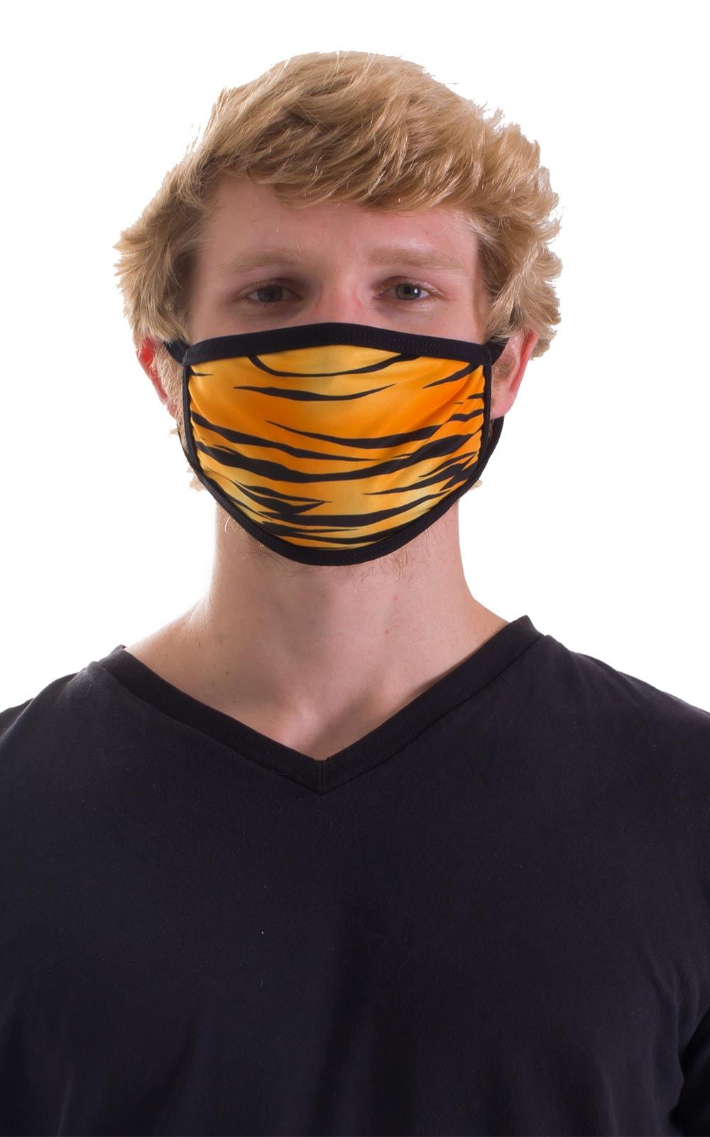 Golden Kat-Black 2-ply face mask 4