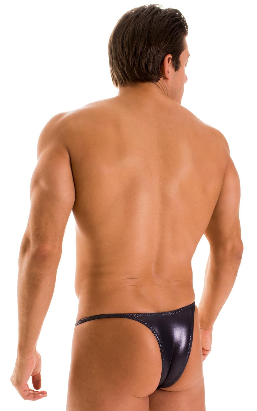 Sunseeker Micro Pouch Half Back Bikini in Ice Karma Nero 2