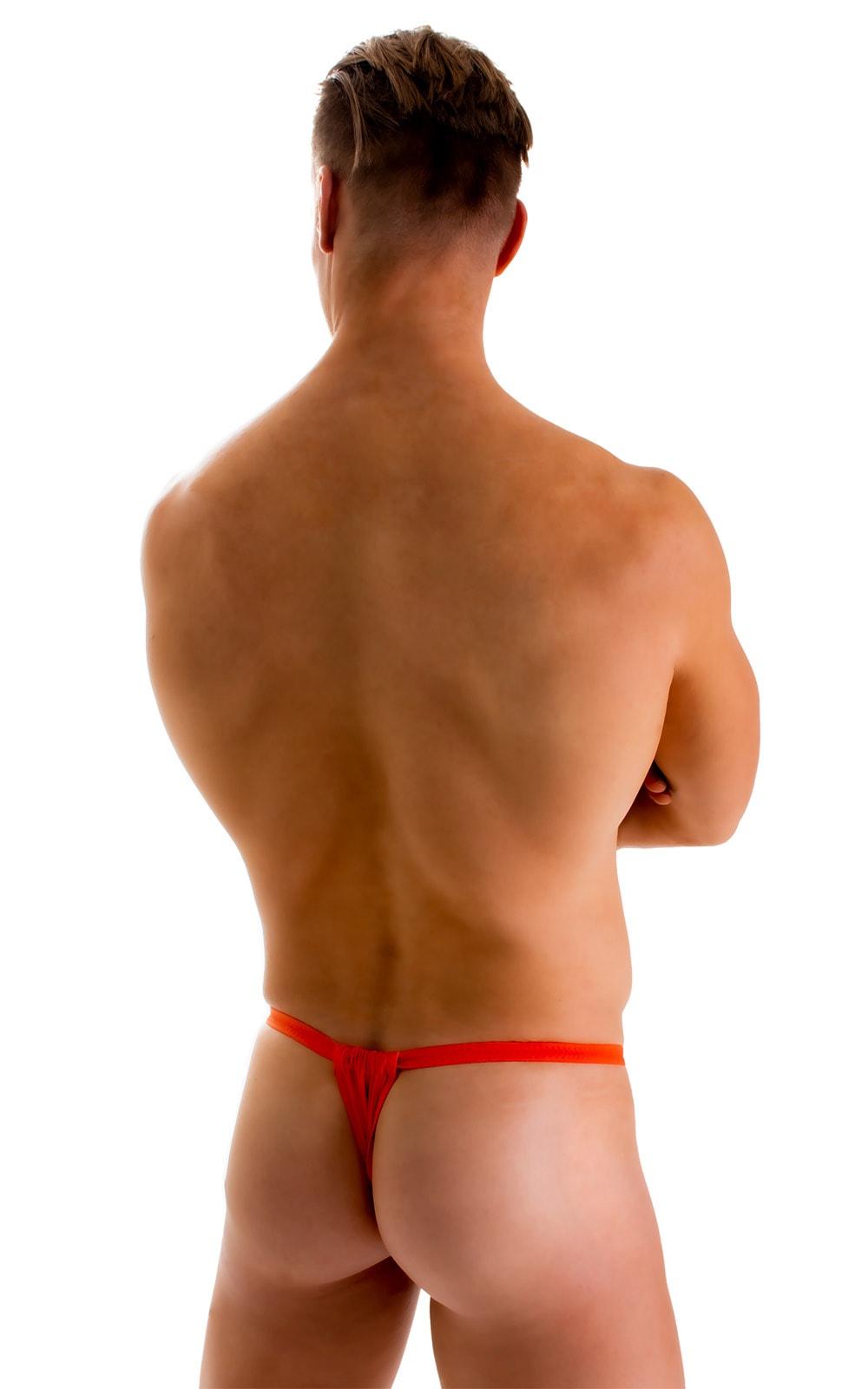 4-Way Adjustable Bikini-Tanga-Micro in ThinSKINZ Apricot 2
