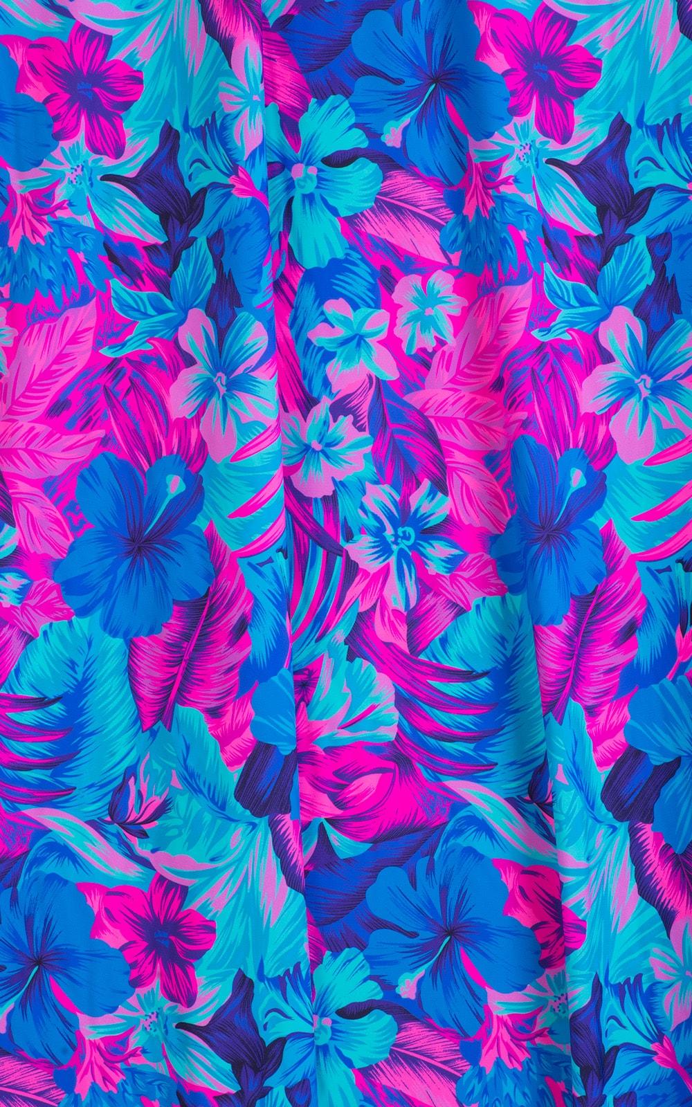 Tahitian Magenta/Aqua 2
