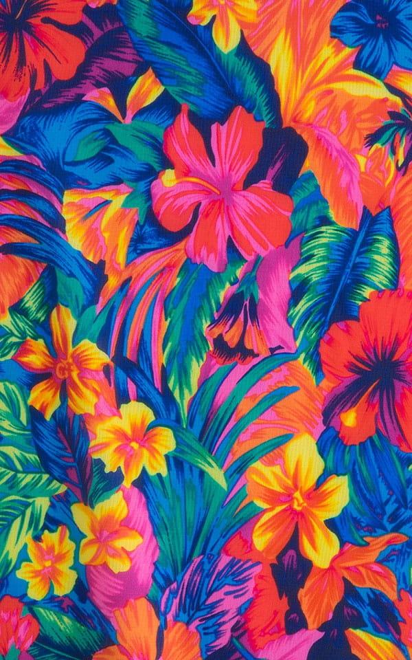 Classic Triangle Top in Tan Through Tahitian Fabric