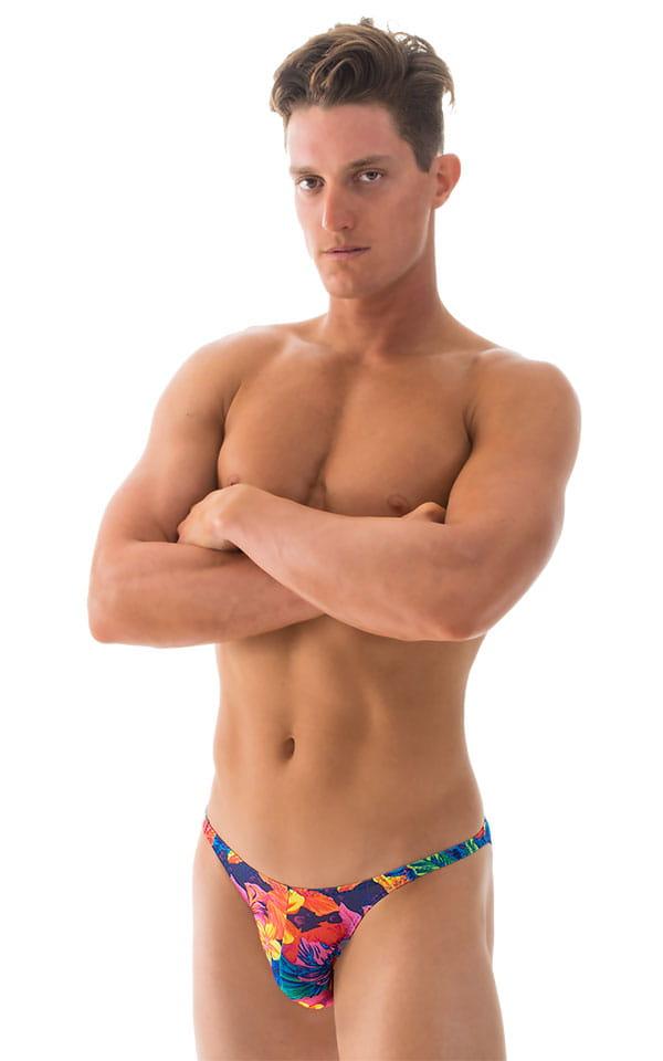 Fitted Bikini Bathing Suit in Tahitian Tan Through 1