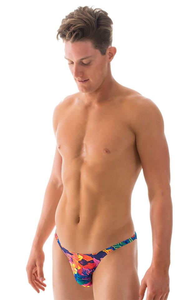 Fitted Bikini Bathing Suit in Tahitian Tan Through 4