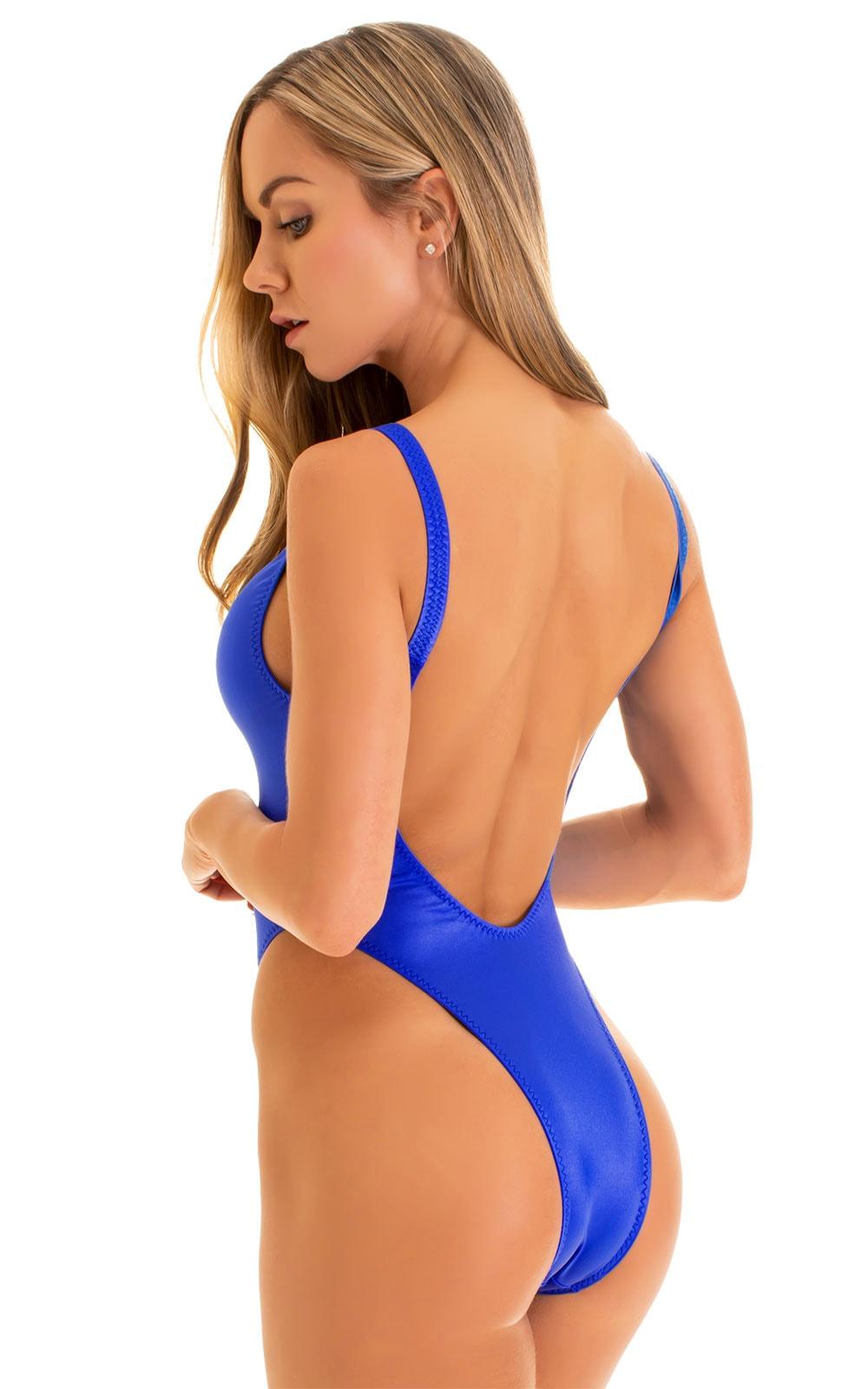One Piece Zipper in Blue 6