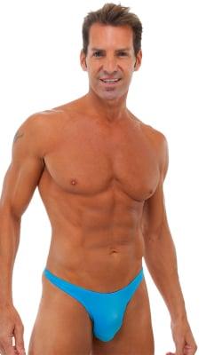 Cutaway - Half Back - Bikini Bathing Suit v2 in Semi Sheer ThinSkinz Sapphire
