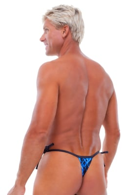 Mens Side Tie Swimsuit Thong