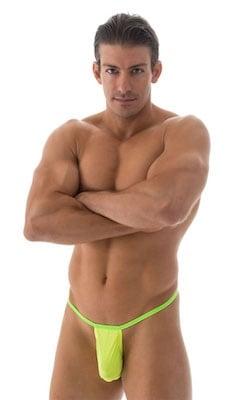 Mens-Banded-Waist-Thong Front